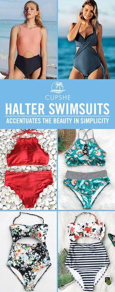 4a9a5d8456 Time to treat yourself more new arrivals to prepare for. Summer  HairdosSummer HairstylesSummer MakeupSummer BeautyHalter BikiniBikini  SwimwearLit ...