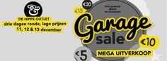 Garage Sale, Hippe Outlet, Mega Uitverkoop! -- Schipluiden -- 11/12-13/12