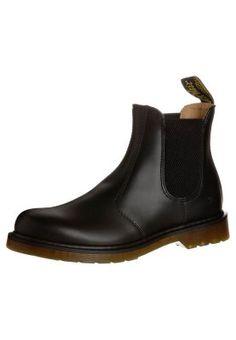 Booties Dr. Martens CHELSEA - Korte laarzen - black Zwart denim/blackdenim: 159,95 € Bij Zalando (op 7/02/16). Gratis verzending & retournering, geen minimum bestelwaarde en 100 dagen retourrecht!
