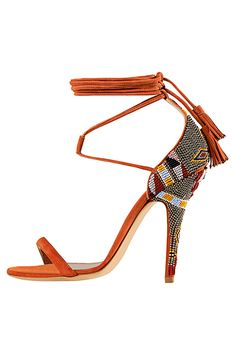 Etro - Women's Accessories - 2015 Spring-Summer. Not so much the beading but I love the strap placement and the tassel.
