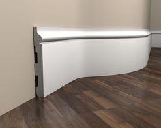 Flexible Sockelleiste weiß MD358F Bathtub, Bathroom, Table, Furniture, Home Decor, Bath Tube, Cool Ideas, Timber Wood, Standing Bath
