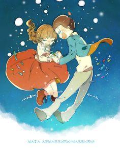 目が覚めたら 君を連れて 未来を今踊る  (星野さんのweek endが似合う素敵な二人です...泣いた...)