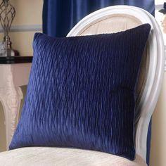 Midnight Blue Opulence Collection Cushion | Dunelm Mill