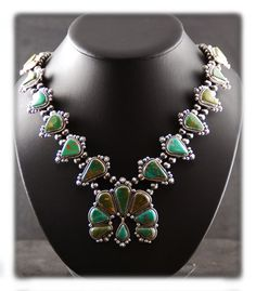 squash blossom necklace - Google Search