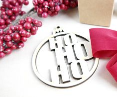 individueller Weihnachtdeko für den Christbaum, Adventskranz oder Dekoration Shop, Christmas Jewelry, Christmas Tree Decorations, Gifts, Dekoration, Store