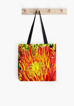 Southwest Cactus Flower by Judi Saunders