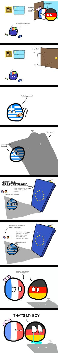 Leave Greece alone , EU! Best Funny Pictures, Funny Images, History Memes, Country Art, Fun Comics, Funny Stories, Haha Funny, Cute Drawings, My Boys