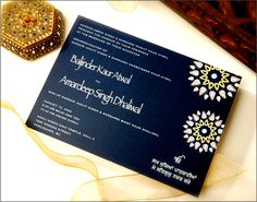 Indian wedding invite