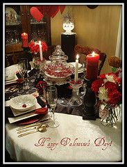 Valentine table and SETTING A PRETTY TABLE for every month of the year!