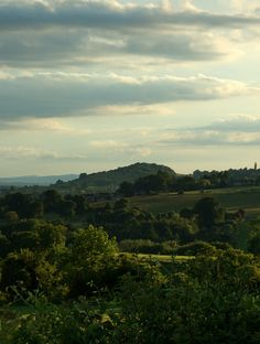 Randwick from Uplands, Stroud, Gloucestershire.  Alwyn Cooper...I want to go home.