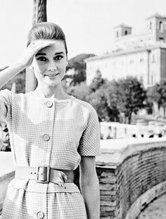 Audrey Hepburn, Trinita dei Monti, 1959