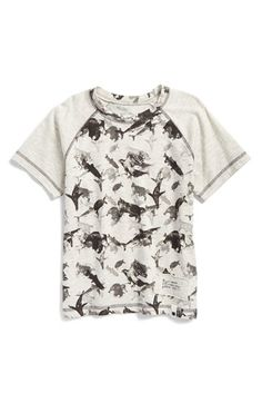 Lucky Brand 'Wild' Raglan Graphic T-Shirt (Toddler Boys)