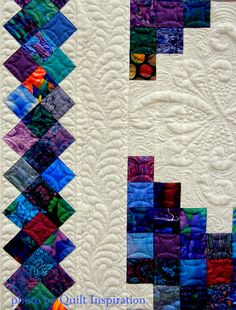 Triple Irish Chain quilt, entered by Wendy Gilbert. 1st place group quilt. 2015 AZQG, photo by Quilt Inspiration