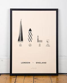 LONDON POSTER Me&Him&You