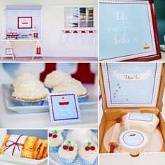 Look out for delicious looking pies and cute party signs (my favorite!) in this Darling Sweetie PIE 10th Birthday Party!