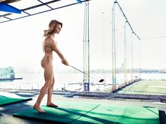 Scottish golfer Carly Booth in the ESPN Body issue (Photo: ESPN The Magazine)