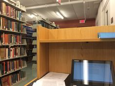 Love learning alone in library