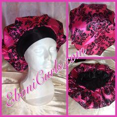 Pink Damask Bouffant