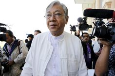 Welcome to Soul 2 Soul Mates Blog: Who Is Htin Kyaw, Burma's New President?