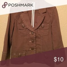 Juniors small fashion jacket Tag is removed. Jacket is in great condition. Zero flaws Jackets & Coats Blazers