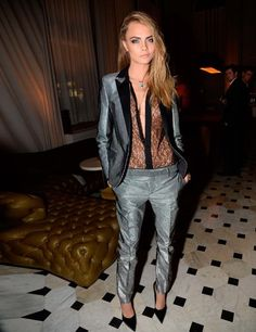 Cara Delevingne at the W Hotel LFW Party