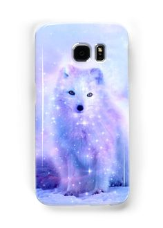Arctic Iceland Fox • Also buy this artwork on phone cases, apparel, stickers, and more.