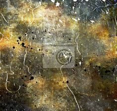"""Wall Mural """"rough, surface, rust - abstract grunge"""" ✓ Easy Installation ✓ 365 Days Money Back Guarantee ✓ Browse other patterns from this collection!"""