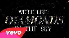 Rihanna - Diamonds (Lyric Video) I Love You All, I Feel Good, Diamonds Lyrics, Rihanna Diamonds, Song Images, Love Me Harder, Types Of Music, Popular Music, My Favorite Music