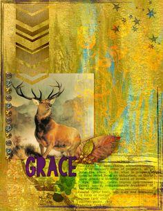 Art Journal Caravan 2014 - Week 45 - Grace