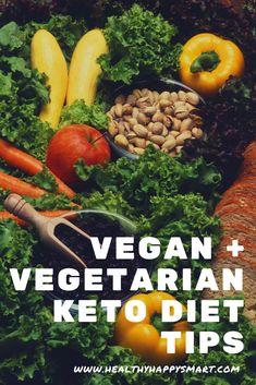 Vegan + Vegetarian Keto Diet Food Guide --- #VegetarianKeto #meatfreeketo #ketogenic #keto #weightLoss #LowCarb