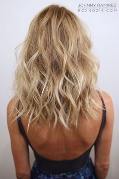 BLONDE BOMBSHELL. Hair Color by Johnny Ramirez • IG: @johnnyramirez1 • Appointment inquiries please call Ramirez|Tran Salon in Beverly Hills at 310.724.8167.Beach Hair :: Natural Waves :: Long + Blonde :: Summer Highlights :: Messy Manes :: Free your Wild :: See more Untamed DIY Easy Hairstyle Inspiration @untamedorganica
