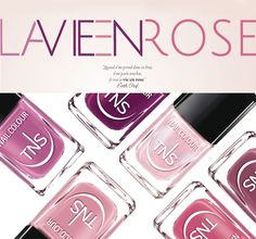TNS La Vie en Rose: la bellezza si tinge di rosa http://www.tentazioneunghie.it/tns-la-vie-en-rose-la-bellezza-si-tinge-di-rosa/ ‪#‎newcollection‬ ‪#‎nails‬ ‪#‎nail‬ ‪#‎nailpolish‬