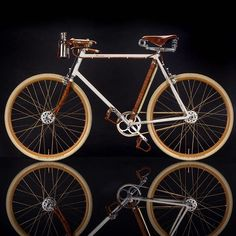 """""""At Ascari Bicycles we hand build our frames utilizing lugs and fillet brazing, producing a frame with a timeless style. In addition to bicycle frame, fork and stem, we also hand-build brake levers from a combination of materials as steel, exotic wood, ruby and leather, which we believe are the most splendid form of utilitarian artwork."""" #helioascari #ascari #art #ascaribicycles #ascariking (📸 @ofeargall)"""