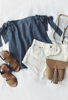 Love this top and color combo would probably still do brown high light color but paired with blue jeans
