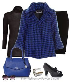 """The Coat"" by fiftynotfrumpy ❤ liked on Polyvore featuring Oasis, MANGO and Fiorelli"