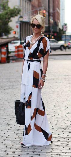 Maxi, modest fashion