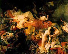 La mort de Sardanapal- Eugène Delacroix