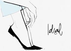 ideal perfect jeans garance dore illustrations