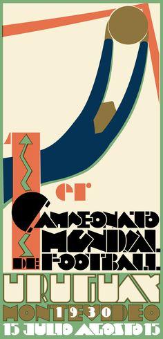 Poster FIFA World Cup 1930  Designer/Artist: Guillermo Laborde