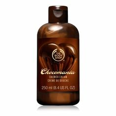 Chocomania Shower Cream from the Body Shop.