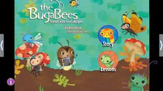 "An Apple App: Food allergies are never fun, but best friends always are! ""The BugaBees: Friends with Food Allergies"" tells the story of eight best buggy friends and the different food allergies they face with positivity and poise. At home or at school, at the park or on the beach, BugaBees find ways to stay safe, have fun, and remember that the joy of friendship is far sweeter than any food they can or can't have."