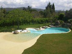 Piscina de arena.  www.piscinasdearena.com
