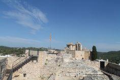 Castillo e iglesia. Calafell