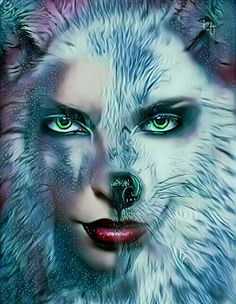 Fantasy Warrior, Fantasy Art, Wolves And Women, Wolf Love, Wolf Pictures, Marvel Wallpaper, Wild Ones, Mythical Creatures, Spirit Animal