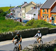 doolin, ireland (the three pubs that have live music are mcdermott's, o'connor's, and mcgann's)