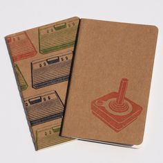 80's Gaming Moleskines sketch geek pocket by blackbirdandpeacock, $17.00