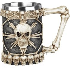Tankard Of Skulls - Boccale birra by Nemesis Now