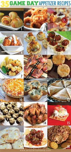 Appetizer Recipes for a Crowd RECIPES | ... Appetizer Recipes at http://artsyfartsymama.com #appetizer #recipes #