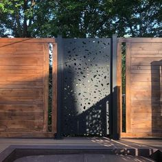 Laser cut privacy screens for interior/exterior use. Add a modern flair to your space while providing privacy around your backyard or deck. Made from high-quality aluminium and a UV protected powder coat, they're built to last. Balcony Privacy Screen, Privacy Walls, Privacy Screens, Modern Exterior, Exterior Design, Modern Patio, Outdoor Rooms, Outdoor Living, Outdoor Kitchens