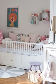 The post appeared first on Babyzimmer ideen. Baby Girl Room Decor, Baby Bedroom, Boy Room, Girls Bedroom, Ikea Girls Room, Ikea Bedroom, Bedroom Furniture, Kids Room, Toddler And Baby Room